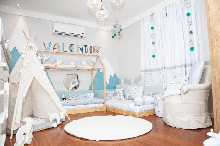 quarto-infantil, quarto-infantil-montessoriano, quarto-montessoriano, kids-bedroom, montessori kid bedroom